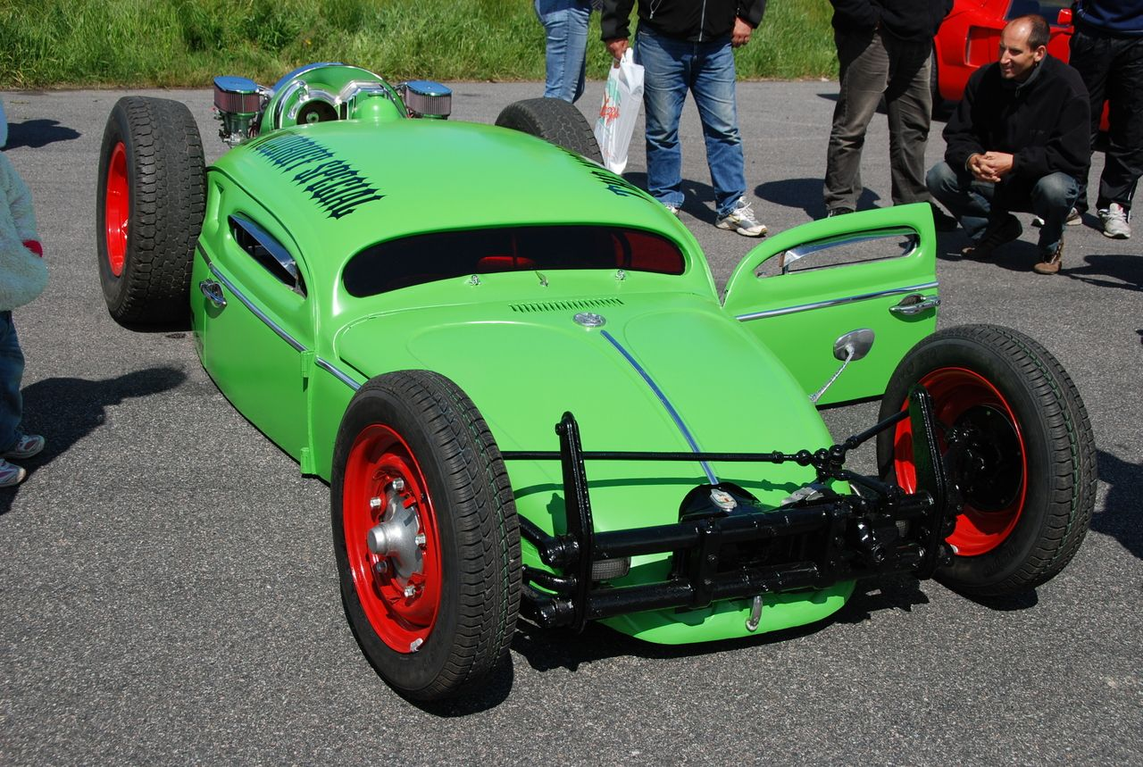 Special cars  VW Bug   Beetle The Woodruff Special Bug Run