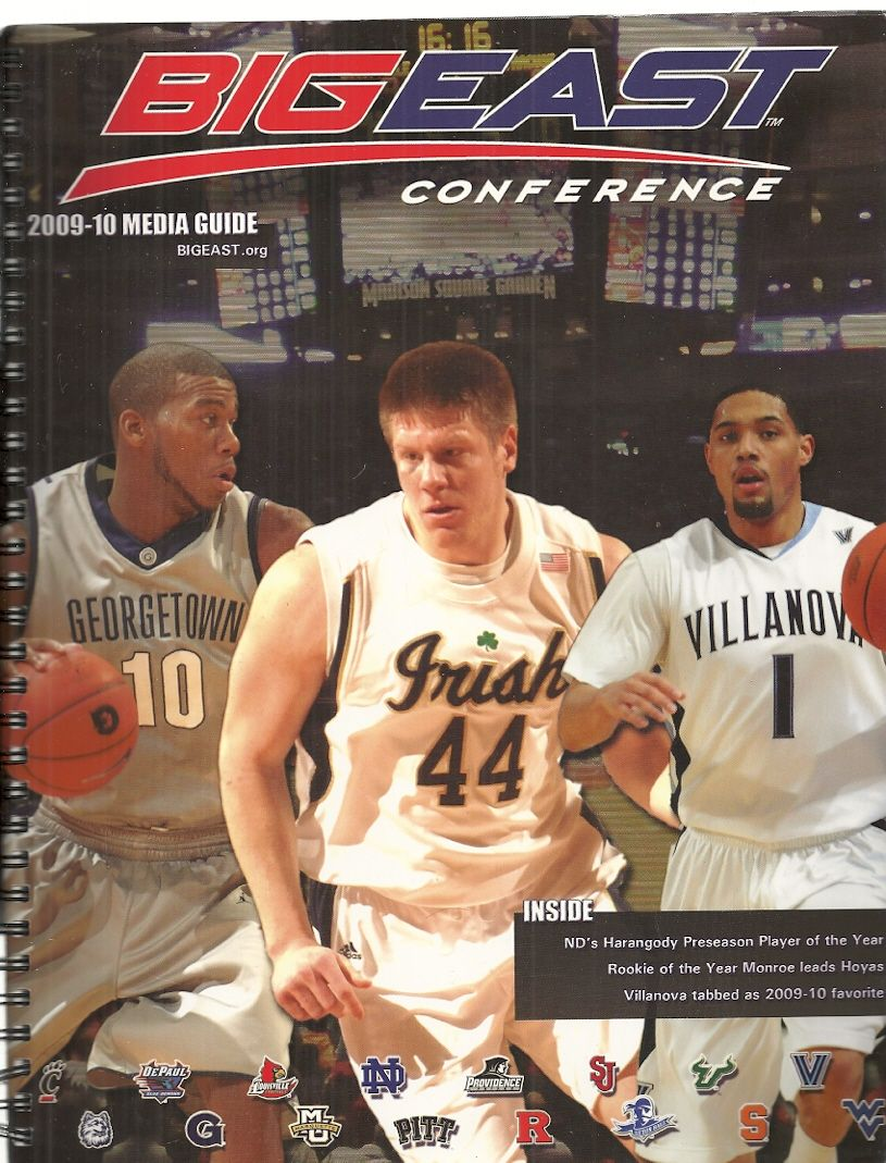 Big East Mens Basketball Conference 2009-2010 Media Guide, Big East Conference
