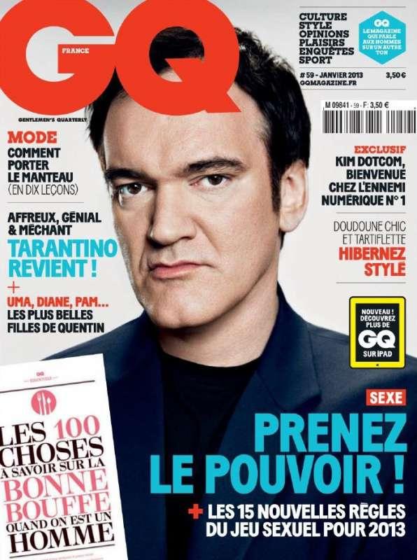 GQ France Janvier 2013