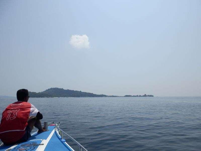 Richtung Insel Nummer 4