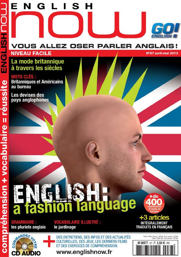 Go! English Now N°67 Avril Mai 2013