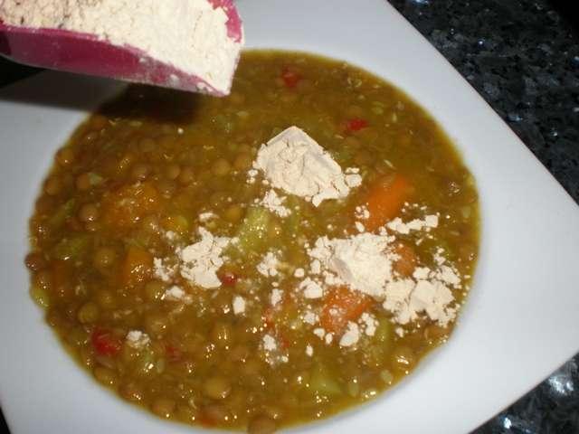 vdyi - Lentejas  con gofio de millo