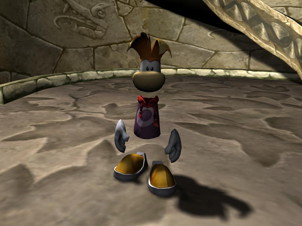 Rayman 3d models ripping - Rayman Pirate-Community